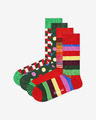 Happy Socks Classic Holiday 4-pack Čarape