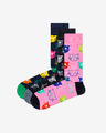 Happy Socks Cat Gift Box 3-pack Čarape