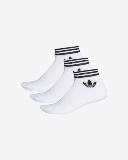 adidas Originals Trefoil Ankle 3-pack Čarape