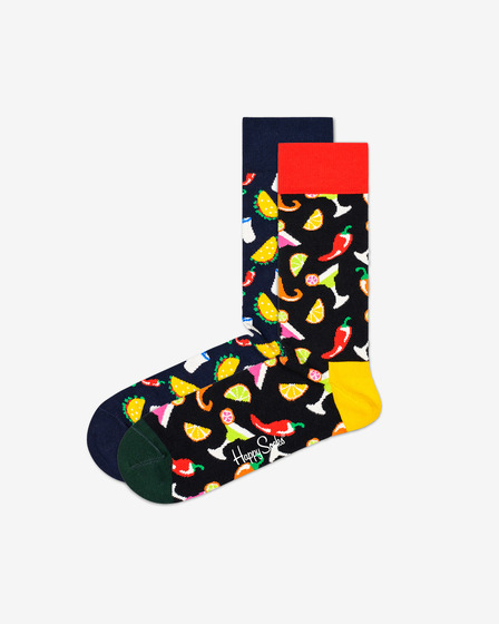 Happy Socks Taco Socks Gift Set 2-pack Čarape