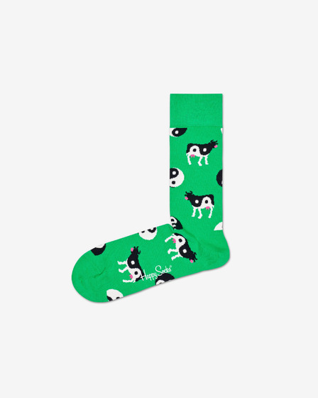 Happy Socks Ying Yang Cow Čarape
